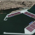 Artist's impression of the Colombo Port Expansion Project