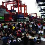 The strike was the port city's longest industrial dispute