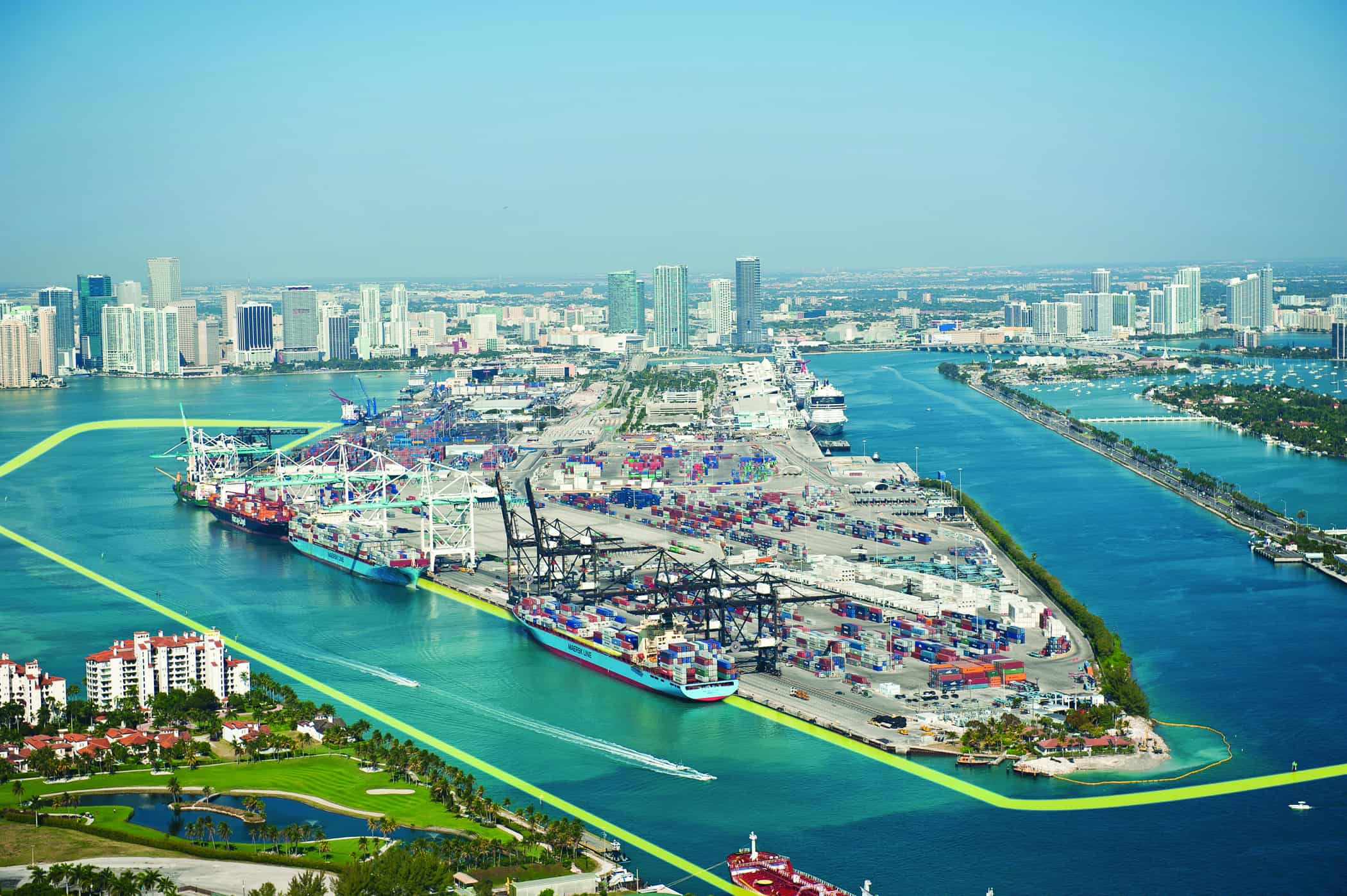 Contract awarded to deepen the PortMiami channel