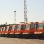 PSCCH's 10 yard tractors started operations immediately.