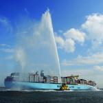 Rotterdam welcomes the Maersk Mc-Kinney Moller
