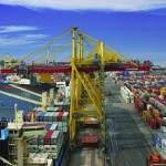 First Container Terminal in St Petersburg