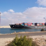 The Suez Canal stands to gain from delays in Panama