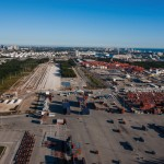 Port Everglades contributed the land, valued at US$20m, for the ICTF