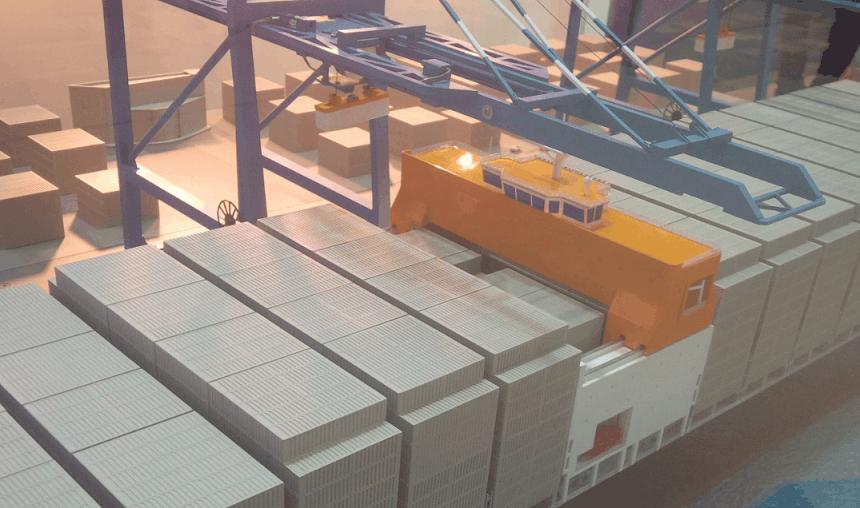 Hyundai Skybench innovation can increase container ship capacity