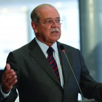 Outgoing minister Cesar Borges