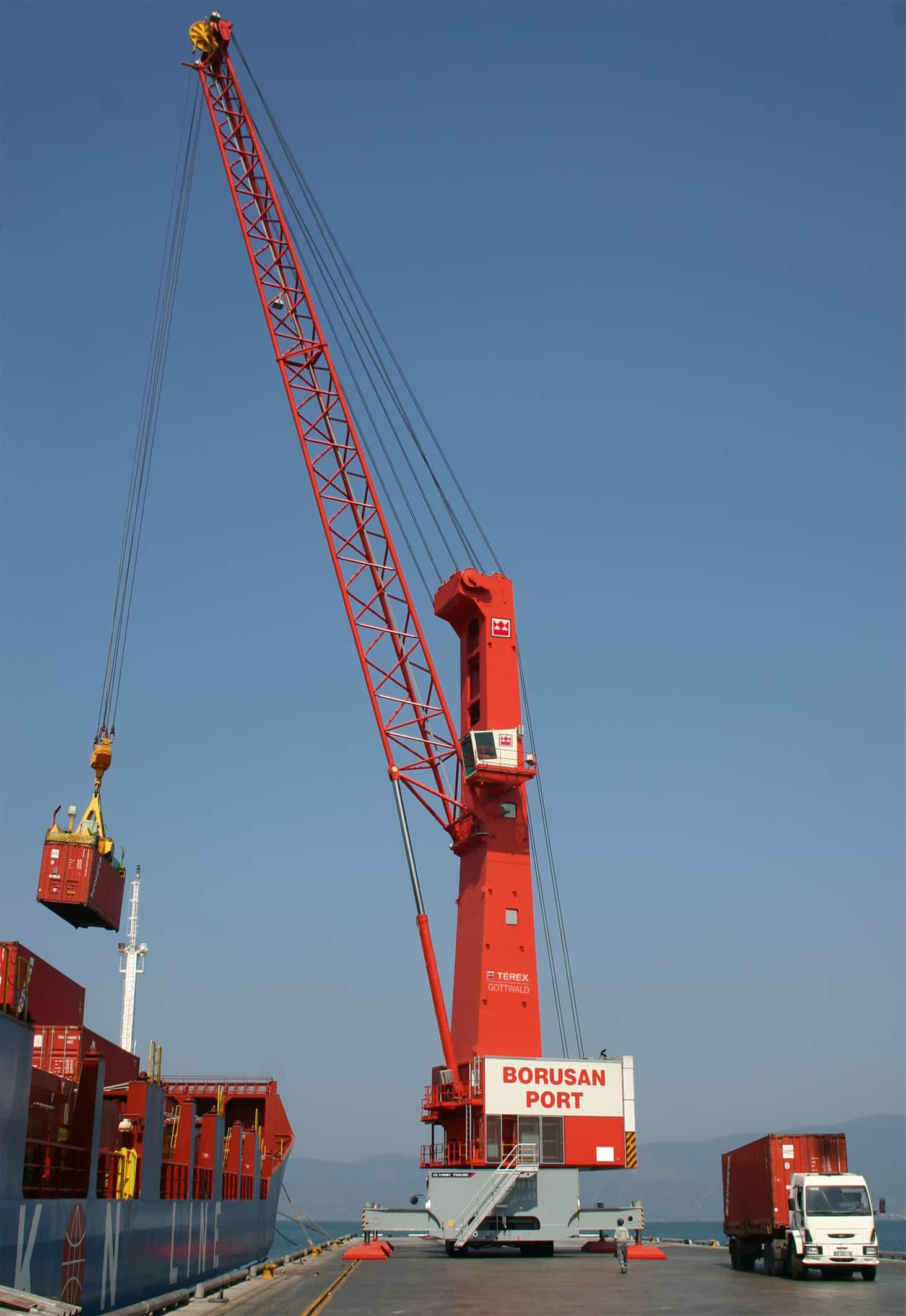 Terex end the year with large crane order