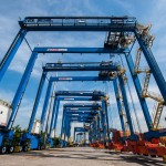 The cost of container equipment is going down in general