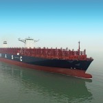 The vessel was named at Hyundai Samho Heavy Industries (HSHI) in Mokpo, South Korea
