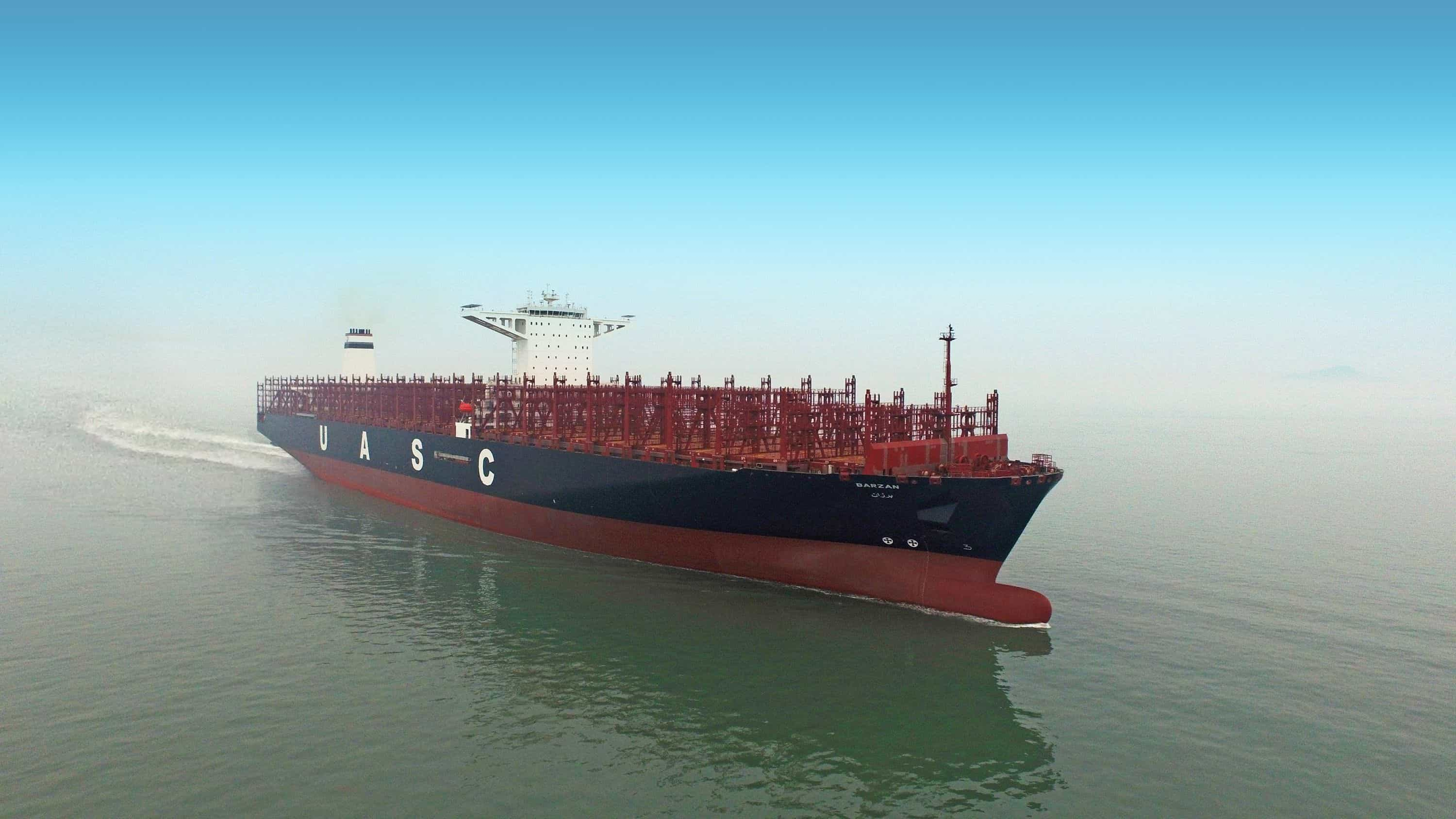 UASC names first LNG-ready 18,800 teu vessel