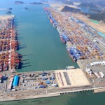 15m teu of capacity will be added to Busan New Port