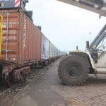 Loading Krishnapatnam Port's new train service