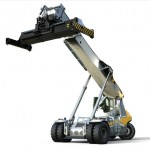 The new series LRS 545 Liebherr Pulser reachstacker