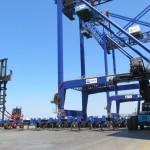 The new equipment in Nemrut Bay, Turkey