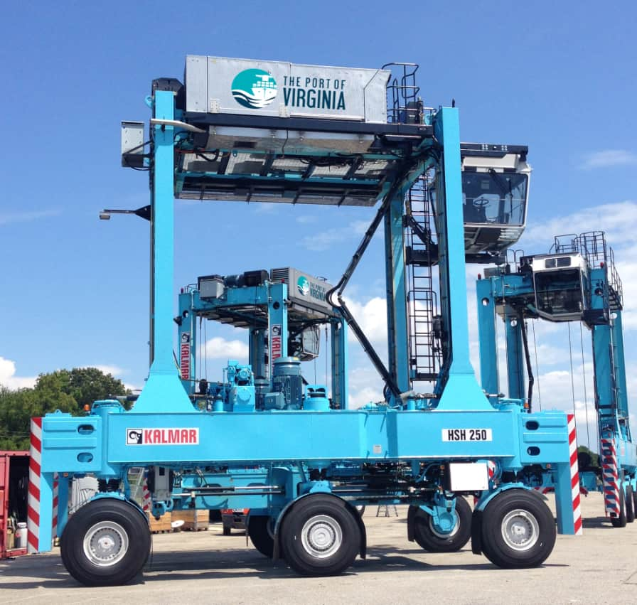 Kalmar delivers three hybrid shuttle carries to Virginia International Gateway terminal