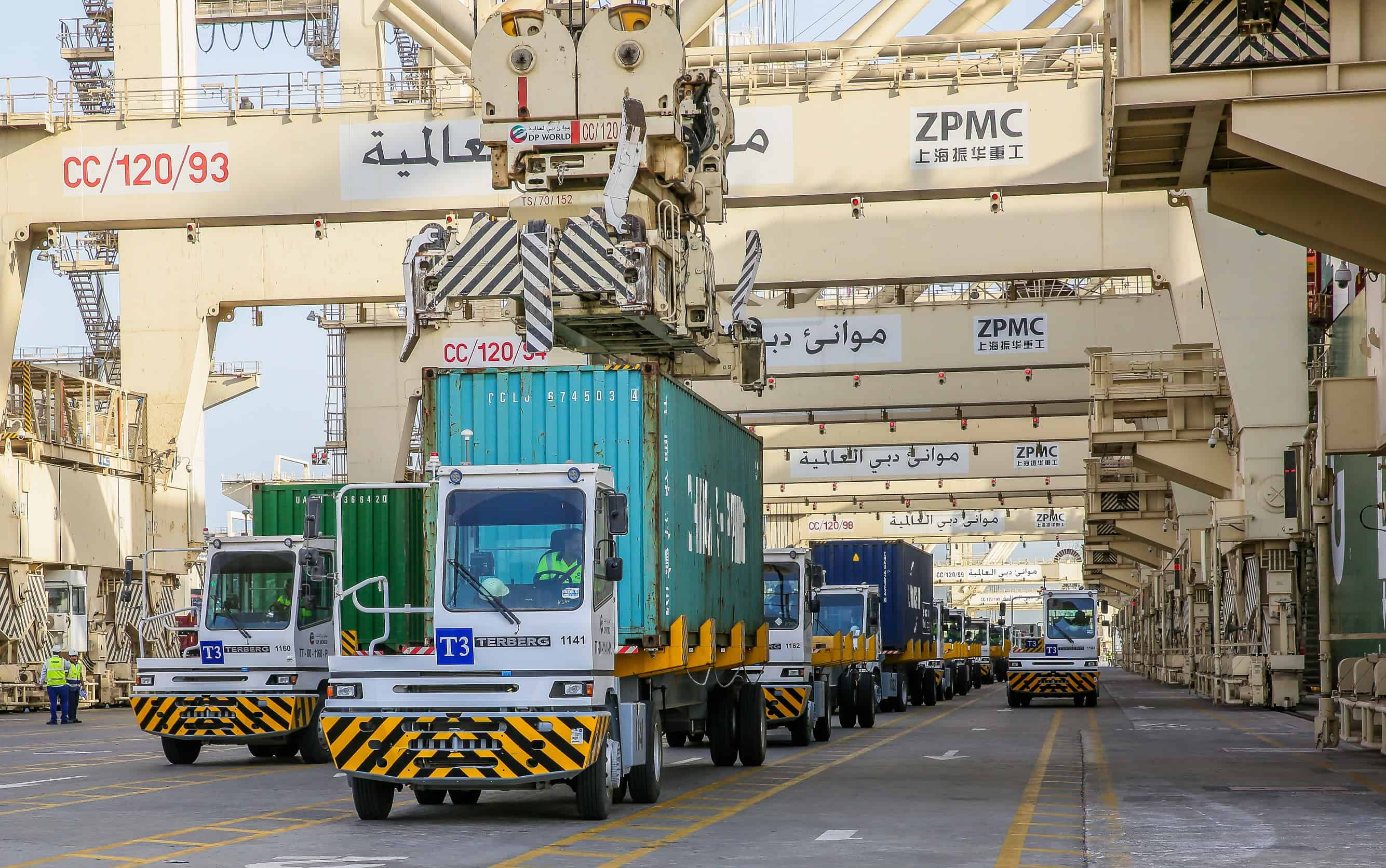 DP World orders 238 Terberg terminal tractors for Jebel Ali