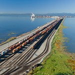 Deltaport Terminal Road and Rail Improvement Project is being implemented in four phases