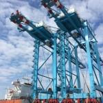 STS cranes arriving in Izmir