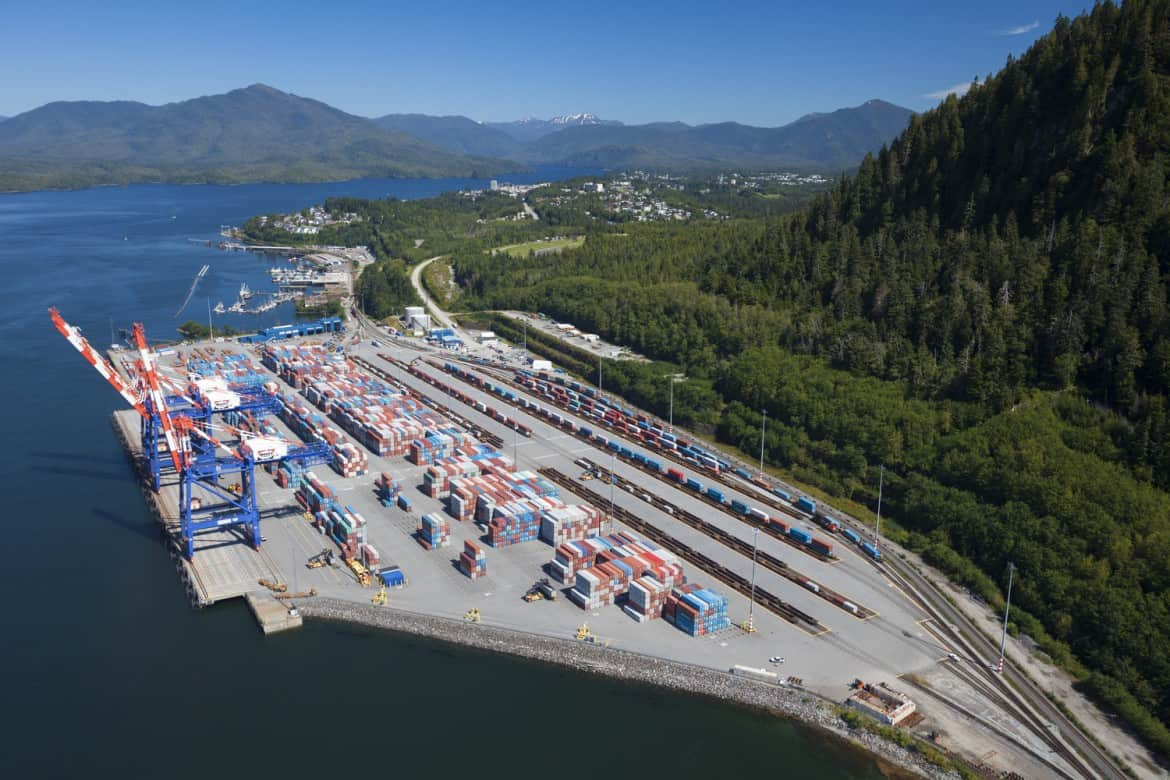 Dp World Studies Prince Rupert Expansion Container