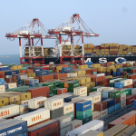 International carriers started calling again at the Port of Bandar Abbas