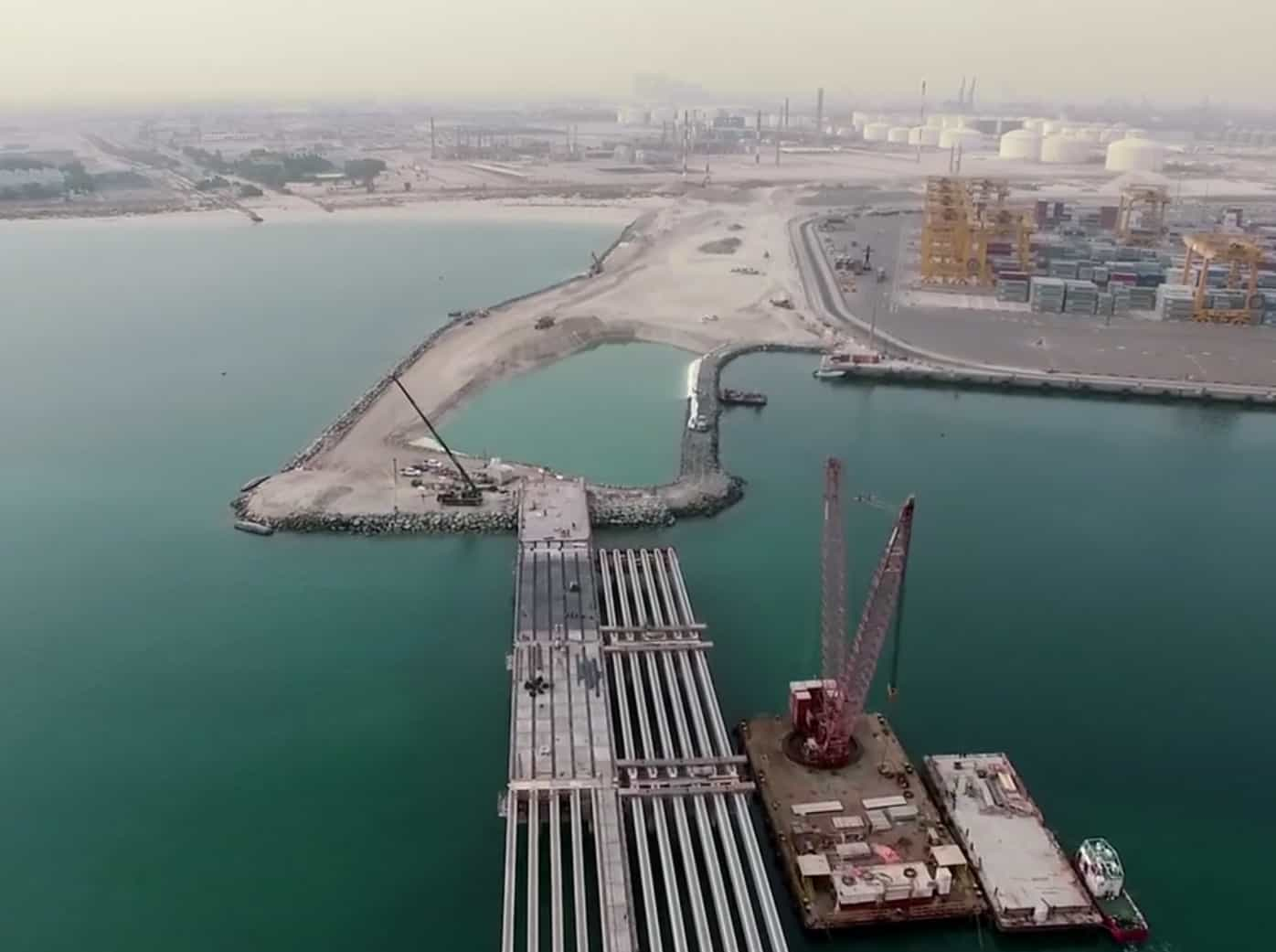 DP World signs construction contracts for Jebel Ali expansion