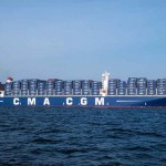 CMA CGM sent the Benjamin Franklin to the West Coast in December last year