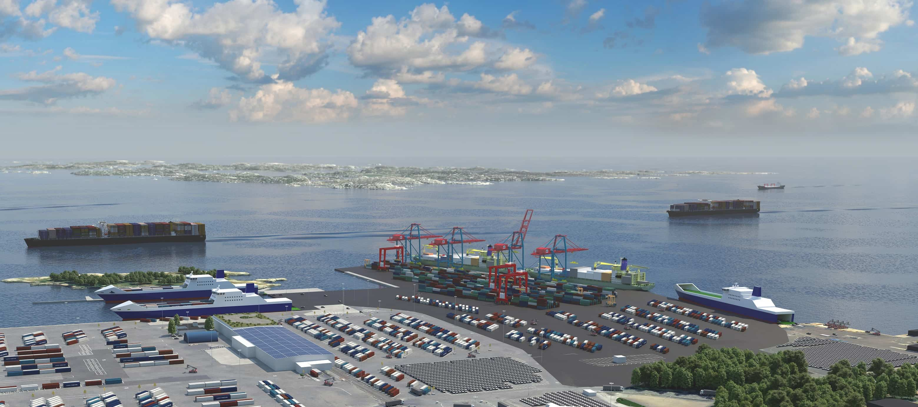 Gothenburg set to build a new terminal