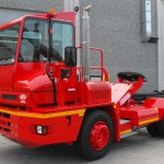 One  of the last CVS Ferrari terminal tractors