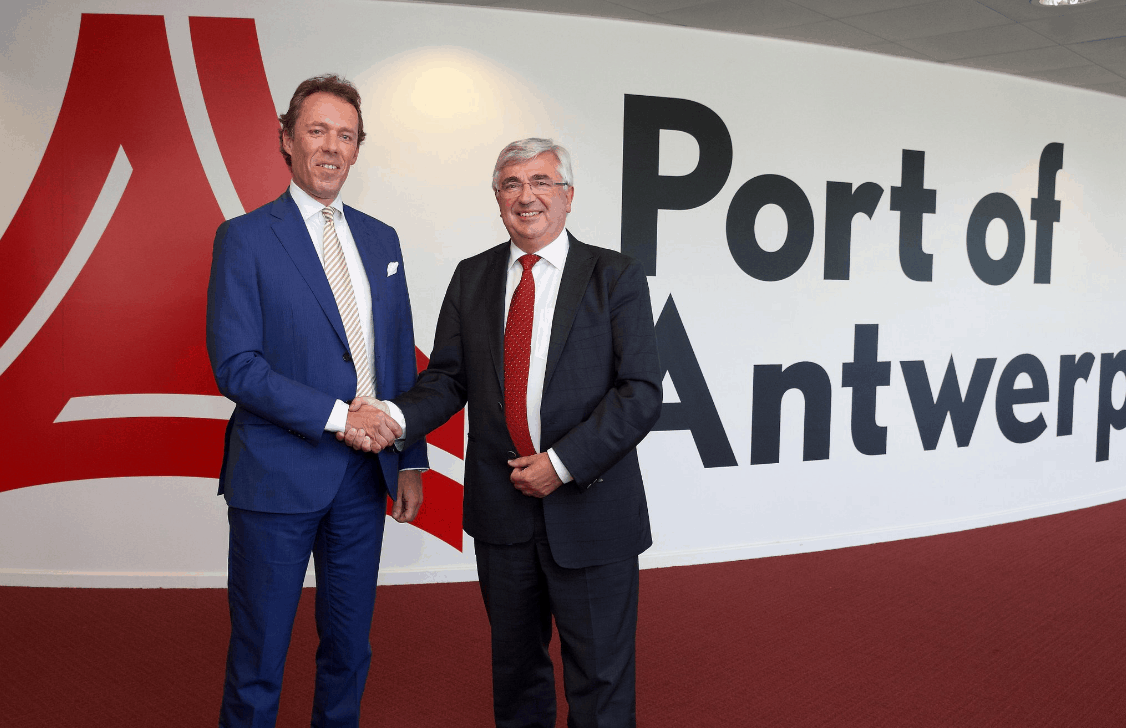 Antwerp Port Authority appoints new CEO