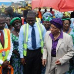 Liberia's President Ellen Johnson Sirleaf officially inaugurated the new system