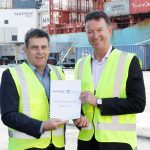 The ports' CEOs signed a memorandum of understanding