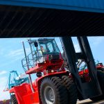 In general, container handling equipment has got cheaper