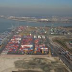 Antwerp's throughput increased by 4% in the first three quarters of 2016