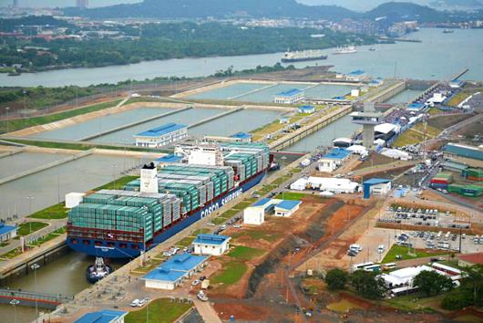 Expanded Panama Canal could offer inadvertent emissions cut
