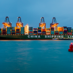 With a capacity of 19,100 teu, the CSCL Globe is one of the largest container vessels