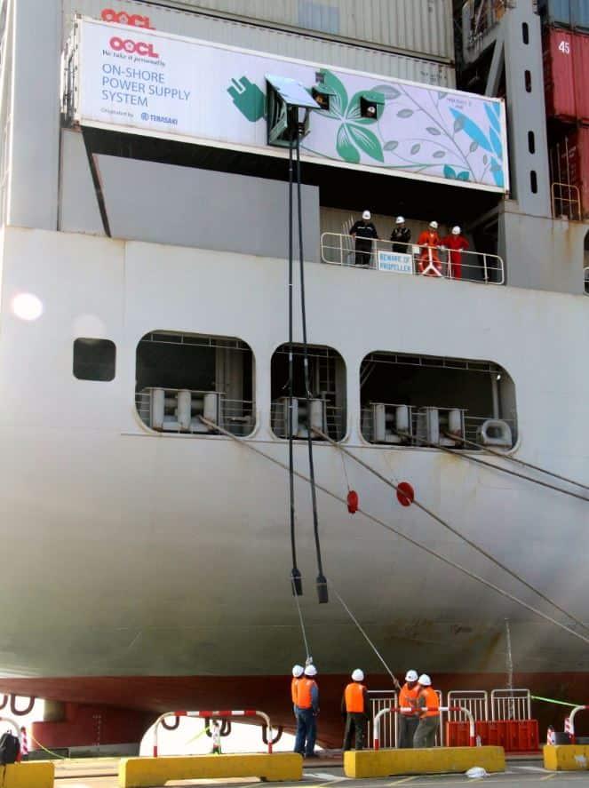 DaChan Bay Terminals begins using shore power