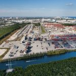 The containers were handled at Port Everglades