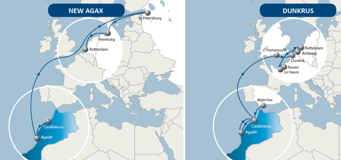 CMA CGM launches direct Morocco-Russia service