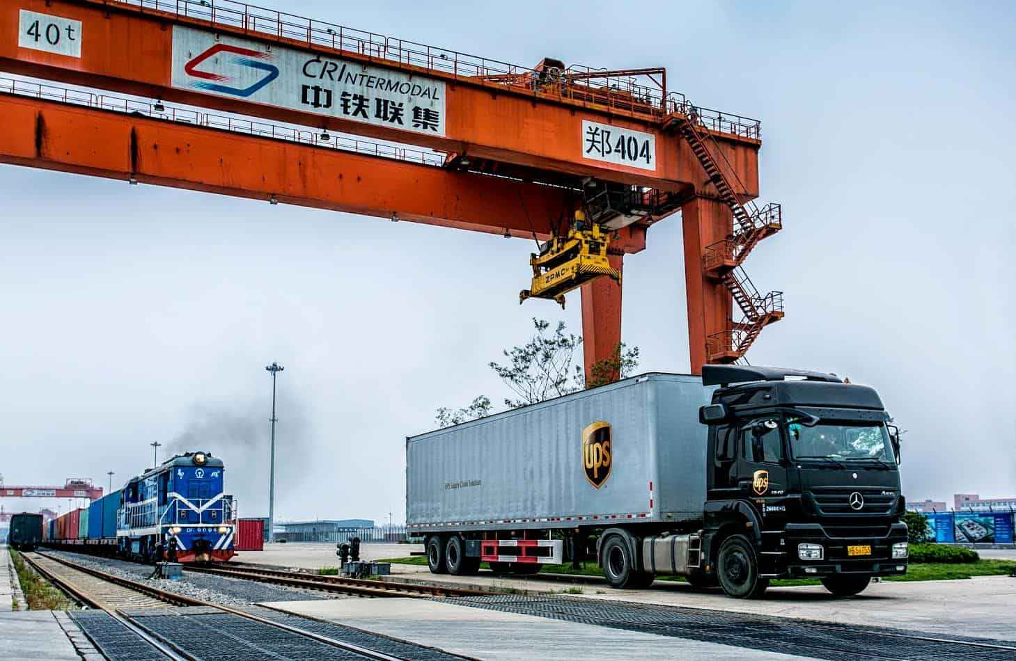 UPS expands China-Europe intermodal service