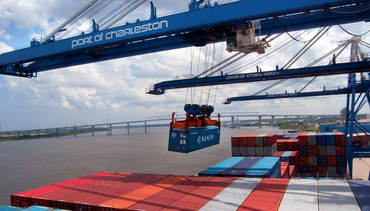 Throughput rises as Charleston prepares for 13,000 teu vessel