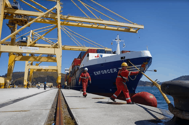 Yilport Ferrol Container Terminal receives first vessel
