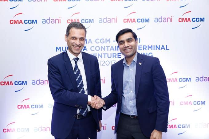 CMA CGM and Adani to operate Mundra's new terminal