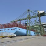 Madrid Maersk is the first of 11 2nd generation Triple-E vessels
