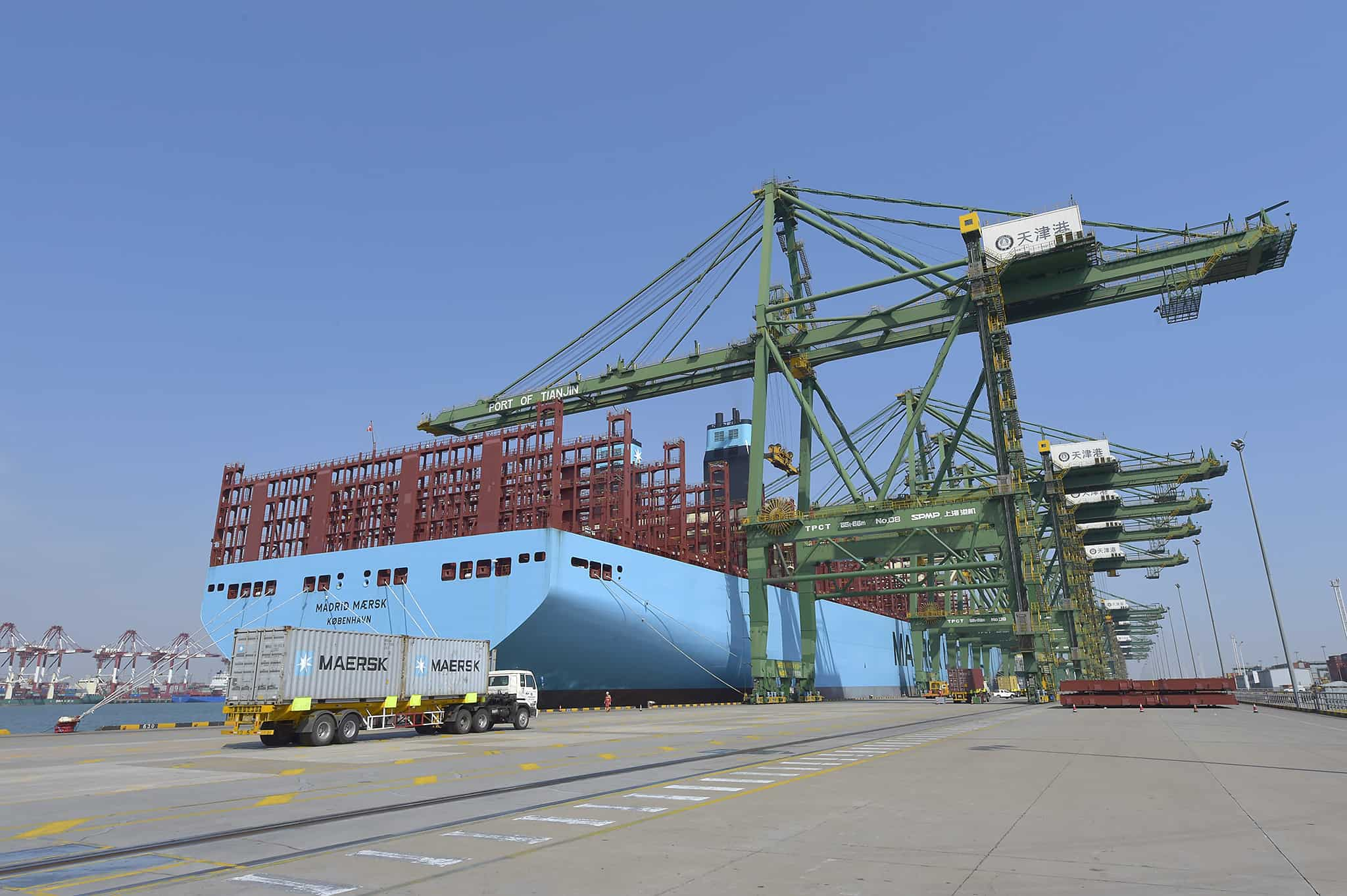 Maersk deploys first of 27 new vessels ordered