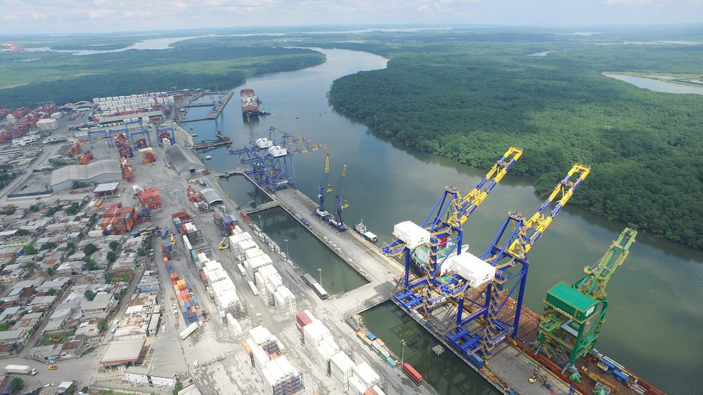 Guayaquil to operate Ecuador's largest cranes