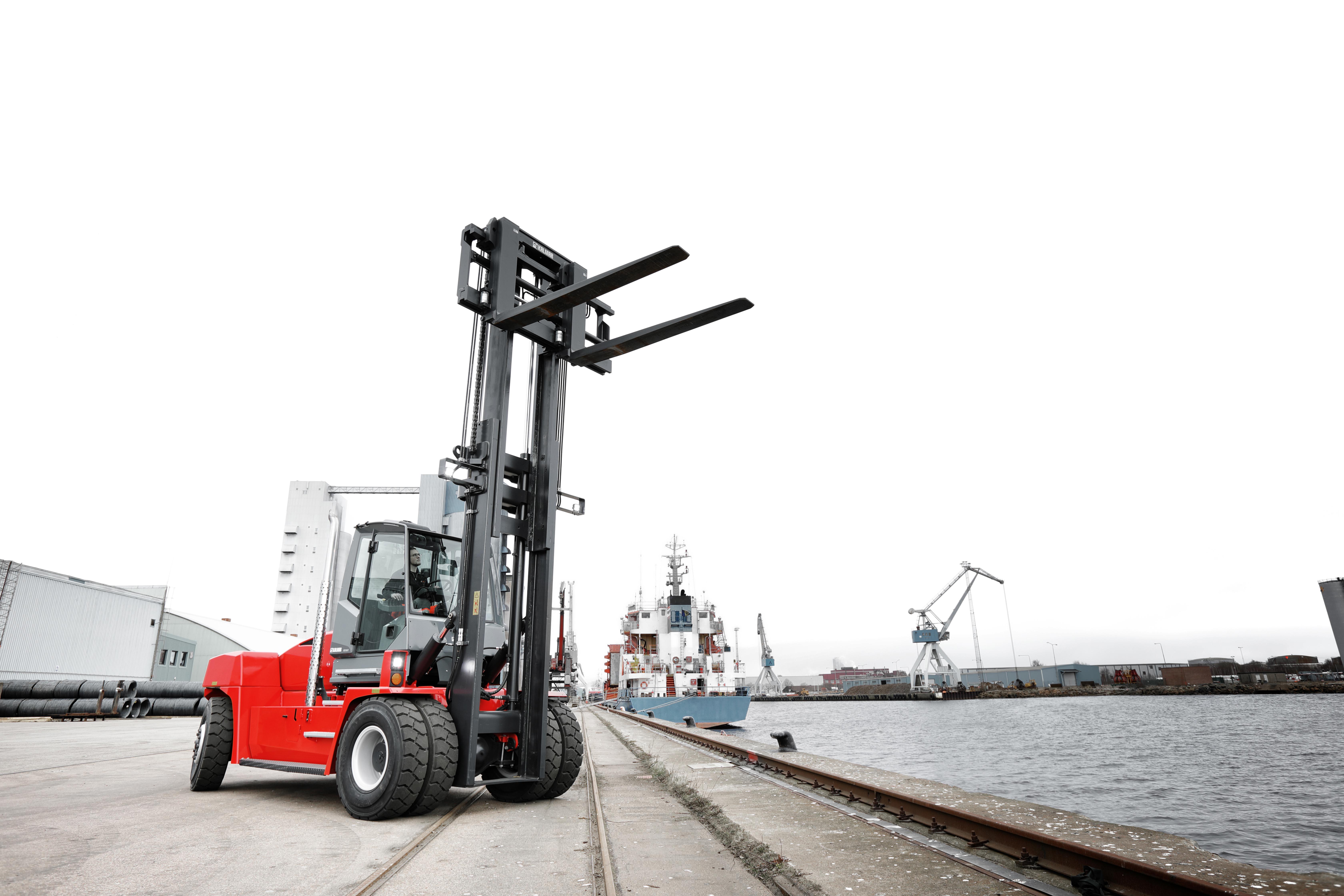Kalmar launches new forklift range