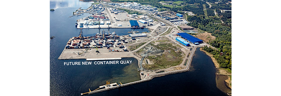 Gävle Container Terminal expansion approved