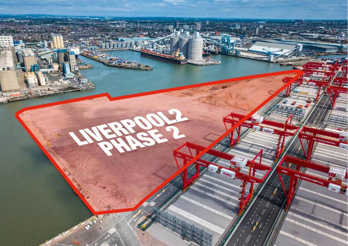 Peel Ports begins Liverpool2 phase two expansion