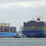 Container volumes are up in Rotterdam