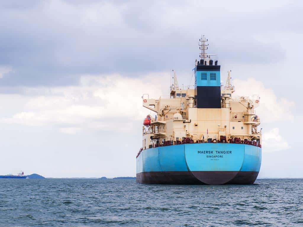 Maersk sells tanker business